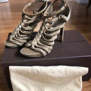 Louis Vuitton Mabillon Strappy Heels